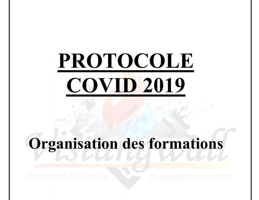 Protocole sanitaire COVID19 pour les formations